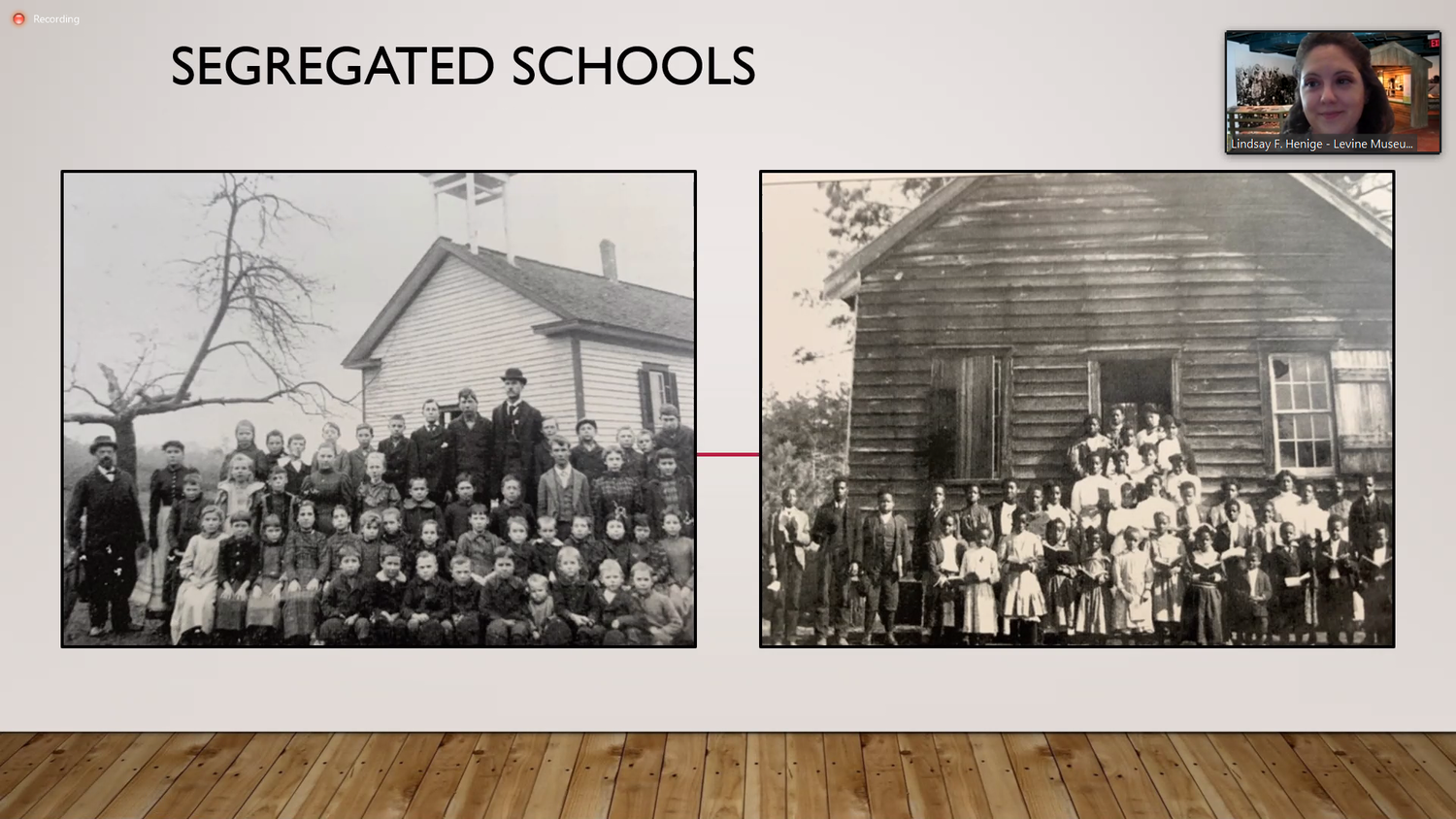 Virtual Tours Segregated Schools